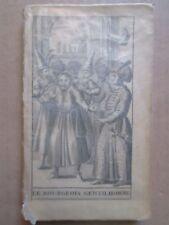 MOLIERE : LE BOURGEOIS GENTILHOMME comédie-ballet, 1688