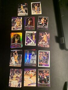 2020 Lebron James Anthony Davis Panini Chronicles Basketball 33 Card Lot