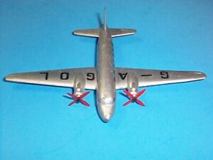 DINKY TOYS VICKERS VIKING AIRLINER AIRPLANE MECCANO LTD ENGLAND 1950s