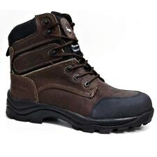 MENS BRAHMA STEEL TOE CAP SAFETY BOOTS MILITARY COMBAT ANKLE HIKING SHOES SIZE