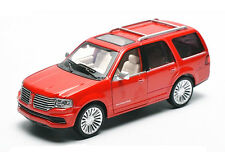 1:32 LINCOLN NAVIGATOR Diecast Model Toy Car Sound Light Pullback Red New