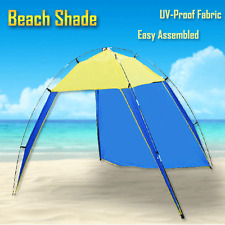 Portable Beach Tent Sun Shelter UV Shade Family Outdoor Camping Yard 4 People Bl