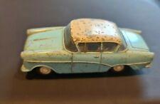 60 Jahre alter Opel Rekord 902 von GAMA hellblau & beige Mini Mod 1960s 1:43