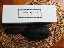 NEW in Box LAIGHT & MERCER Mongolian Bristle Bristle Hair Brush DRY HAIR