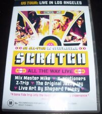 Scratch All The Way Live Mix Master Mike, The X-Ecutioners DJ Z-Trip OBE – DVD