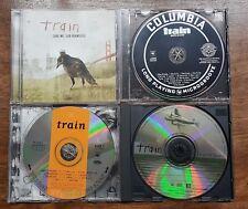 Train Lot of 4 CDs - Self Titled - Drops of Jupiter - Alive at Last - Save Me