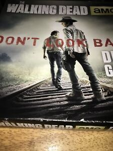 AMC The Walking Dead Don't Look Back Zombie Horror Board Game TWD Game Night