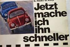 Volkswagen 1200 Käfer tuning Jetzt mache ich ihn schneller von 1966 3. Auflage