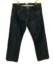Rye 51 The Still Selvedge Denim Jeans Straight Leg Men's 38W 29L