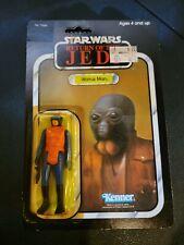 Vintage Kenner Return of the Jedi Rotj Walrus Man 77 Back Moc