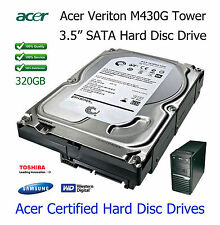 "320GB Acer Veriton M262 3.5"" SATA Hard Disc Drive (HDD) Upgrade / Replacement"
