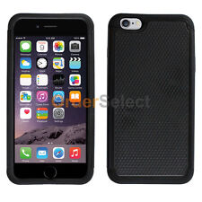 NEW Hybrid Rubber Protector Hard Case Skin for Apple iPhone 7 7S Plus Black HOT!