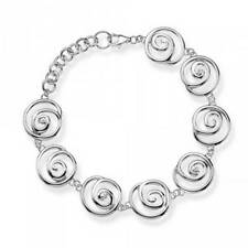 "Sterling Silver Excellent 7 - 7.49"" Fine Diamond Bracelets"