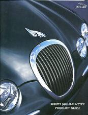 2000 JAGUAR S-TYPE Dealer Solo Sales Manual Folleto