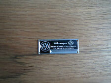 VW Volkswagen Metal Display Plaque Diecast 1/24 1/18 1/43 Beetle Bus Kharmann