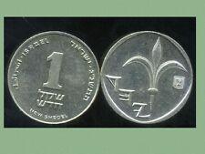 ISRAEL 1 new sheqel  1993