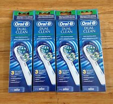 12 ORAL-B Dual Clean Replacement Toothbrush Brush Head Triumph Professional Care