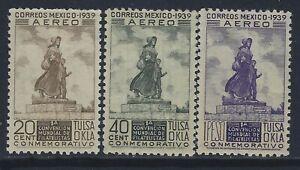 Mexico, Scott #C94-C96, Tulsa Philatelic Convention, MH