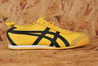 Onitsuka Tiger Mexico 66 Trainers  Black White Yellow Kill Bill Asics Leather