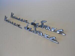 1952-53 Kaiser Deluxe Fender Emblems