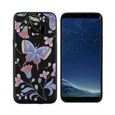 Samsung Galaxy S8/ S8 Plus Soft Tasche Cover 3D Schmetterling Butterfly Motiv