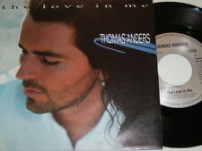 """7"""" - Thomas Anders Love in me & Caught in the middle - 1994 MINT # 4856"""