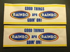 4 RAINBO BREAD GOOD THINGS ARE GOING ON HOT DOG VENDER PAPER SALESMAN CLERK HATS
