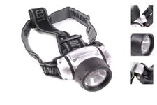 Unbranded Silver LED Camping & Hiking Head Torches
