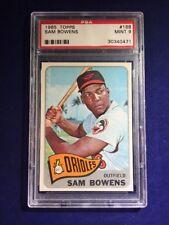 1965 Topps Sam Bowens #188 PSA 9 Baltimore Orioles