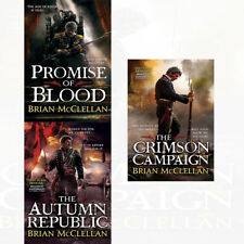 Powder Mage Trilogy Collection By Brian McClellan 3 Books Set Promise of Blood