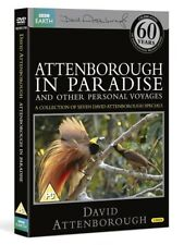 DAVID ATTENBOROUGH in PARADISE (1971-2004): BBC TV SPECIALS - NEW DVD UK