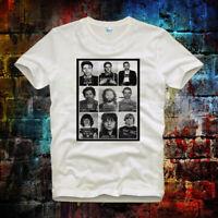 Rock Star Celebrities Mugshot Elvis Retro Vintage Hipster Unisex T Shirt 26b