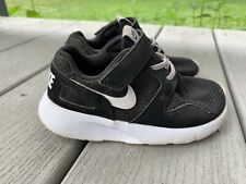Nike Toddler Shoes Size 9C Black White Sneaker 705491-002 Mesh Kaishi Running