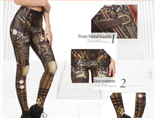 Fashion Design Women Steam punk High XL XXL XXXL Waist Mechanical Gear - from UK