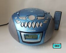 Sony CD Radio Cassette-Corder player NEW BELTS CLEANED WORKING & TESTED!