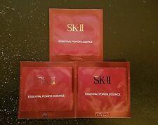 3x SK II Essential Power Essence 0.03 oz/1 ml each