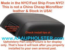Armrest Console Cover Leather Synthetic for 04-08 Ford F150 Lariat Black
