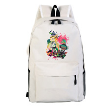 Game Splatoon 2 Canvas Laptop Backpack Schoolbag for Boys Girls Travel Bags