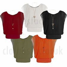 Chiffon Short Sleeve Unbranded No Tops & Shirts for Women