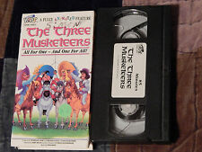The Three Musketeers + Treasure Island + Rip Van Winkle (VHS x 3) Lot) Animation
