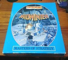 "Microplay Midwinter  PC DOS strategy game 3.5"" big box Mid-winter"