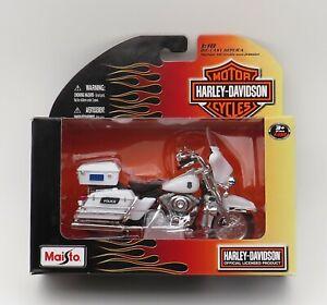 Harley-Davidson 2004 Police Electra Glide Maisto New Motorcycle Toy