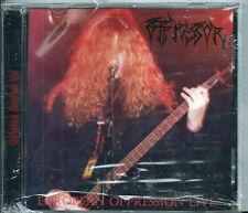 "OPPRESSOR - ""EUROPEAN OPPRESSION LIVE / AS BLOOD FLOWS""  (RARE '95 MEGALITHIC)"