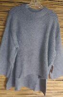 Rachel Rachel Roy Womens Gray Long Sleeve Crew Neck Pullover Sweaters Size XXL