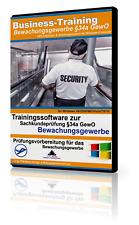 Bewachungsgewerbe Sachkundeprüfung §34a GewO (Windows)