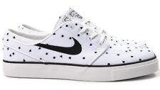 online store 2518c 07847 Nike Sb Zoom Stefan Janoski Toile Premium Skateboard Chaussure 705190-100  Blanc