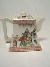 Théière Céramique Porcelaine Chine Famille Verte Chinese Ceramic Teapot Marks