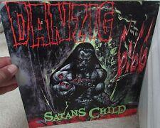 1999 Danzig Satans Child Promo Item Flat 12″ x 12″ Poster