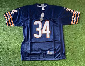 "Chicago Bears NFL Blue Jersey #34 ""Walter Payton"" 48"" M Reebok Onfield"