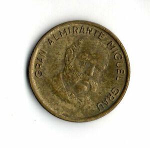 Perú 1985, Gran Almirante Miguel Grau, 5 centimos